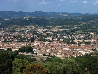 1- Panorama. Citta di Castello