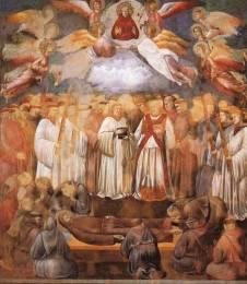 11,1Assisi-Interno- Giotto, La morte di San Francesco
