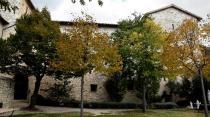 13 - Abbazia di Sassovivo- giardino all'interno-
