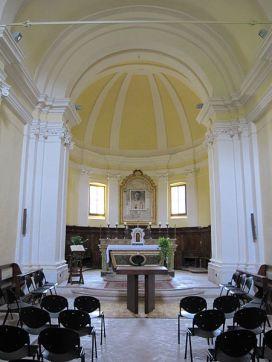 14 - Abbazia di sassovivo, interno chiesa