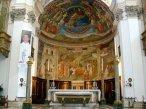 14 . Spoleto - Affreschi di Filippo Lippi nel Duomo