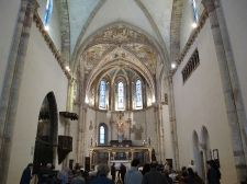 18 - Assisi, santa chiara, interno