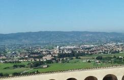 21 - Panorama della Basilica di Santa Maria degli Angeli dai Portici San Francesco