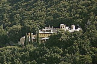 28 - da-spoleto-a-monteluco- complesso di Sant'Antonio abate, probabile luogo di un antico romitorio.