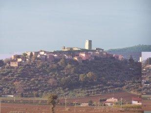30 - Il castello di San Savino sorge sulla cresta di un modesto rilievo collinare (314 m. s.l.m.), in una posizione storicamente strategica per il settore.