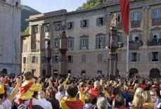 33 - Gubbio La Festa dei Ceri di Gubbio si tiene ogni anno nel mese di Maggio, alla vigilia della morte di Sant'Ubaldo, il santo patrono della cittài