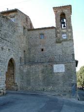 31 - San Savino, Italia- chiesa centro storico.