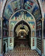 6 - Interno basilica colori di GiottoCappella S_ Nicola