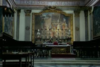 8- Città di Castello interno chiesa di San Francesco_