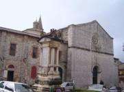 15 - Amelia- cattedrale la chiesa di S. Francesco ...