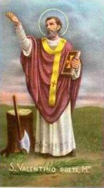 13 Interno Basilica - La festività prende il nome dal santo e martire cristiano San Valentino da Terni, e fu istituita nel 496 da Papa Gelasio I che andò a sostituire la festa pagana delle lupercalia.