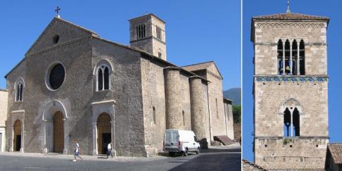 16 - Terni- Piazza e Chiesa di S. Francesco