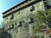 33 -Castello di Verres Vista del castello dal parco
