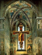 18 -Interno cappella-maggiore-basilica-san-francesco-Particolare Cappella