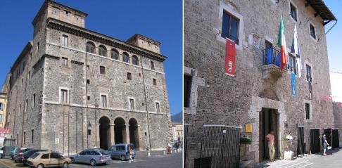 23 - Terni-Palazzo Spada; (right) Palazzo Mazzancolli