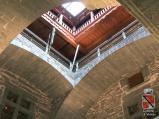 41 - Castello di Verres interno - Vista del cortile quadrato