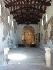 37 - Ferentillo -interno-San Pietro in Valle. L'Abbazia fu edificata nel VIII secolo da Faroaldo II Duca di Spoleto, nei luoghi dove si ...