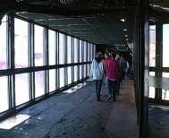 48 - La Galleria della Vallée Blanche vista dall'interno. Immagine tratta dal video.