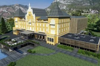 60 -il nuovo Centro Congressi del Saint-Vincent Resort & Casino.