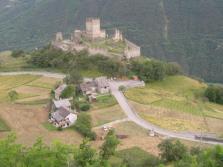 64 - Castello di Cly e borgo
