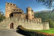67- Il castello di Fénis,.