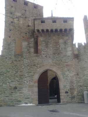 69 - Castello di Fenis. sec. XIII