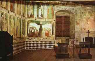 70 - Castello di Fenis. sec. XIII. Cappella, zona centrale