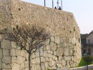 7 - Mura poligonale ciclopiche di Amelia- Esse sono formate da massi perfettamente incastrati tra loro, talora di molto grandi, senza l'ausilio di malta cementizia. Interessante notare come saggi effettuati nel tratto sud abbiano accertato che la profondità delle stesse è di almeno 3,50 m rispetto all'attuale piano di calpestio.
