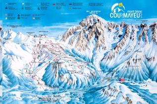 7 -Courmayeur- 100 km di piste -