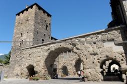 84 - La Porta Praetoria.