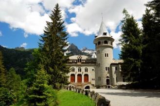 16 - Valle d'Aosta -Gressoney-St.Jean- Castel Savoia