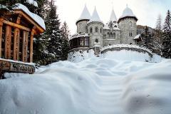 17 -Gressoney-St.Jean Neve fresca, Castel Savoia