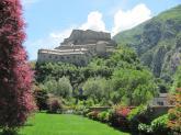 20 - Valle d'Aosta - Forte Bard- Il Forte di Bard è un complesso fortificato fatto riedificare nel XIX secolo da Casa Savoia sulla rocca che sovrasta il borgo di Bard, in Valle d'Aosta