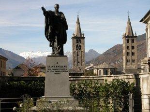 91 - La statua di Sant'Anselmo ad Aosta