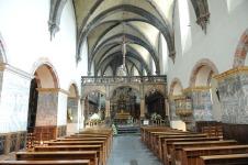 104-Aosta interno Collegiata_Sant_Orso_Navata_