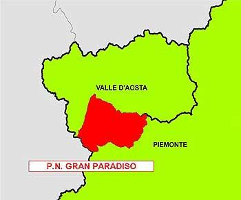 1 - Cartina - Parco-Gran-Paradiso