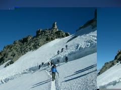 14- Gran Paradiso Via Normale del Rifugio Vittorio Emanuele II - alpinismo