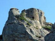 16- Pietrapertosa (resti del castello)
