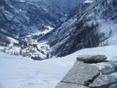 3 - Vallata- Gressoney-La-Trinitè- sciare ai piedi del Monte Rosa.