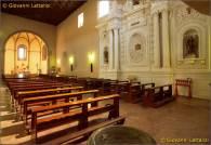22 - - Potenza, interno dellachiesa medievale di Santa Maria del Sepolcro, altare del SS. Sacramento