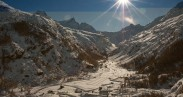 6 - Apertura pista di fondo a Le Pont di Valsavarenche Gran Paradiso