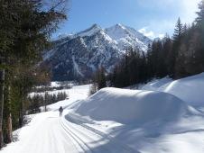 35 - Parco Nazionale del Gran Paradiso innevato- Nel 1919 il re Vittorio Emanuele III regalò allo Stato italiano la sua riserva di caccia tra Piemonte e Valle d'Aosta