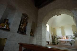 41 -Pietrapertosa- Interno Chiesa Matrice di San Giacomo Maggiore
