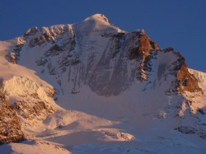 8 - Tramonto sul versante Nord del Gran Paradiso