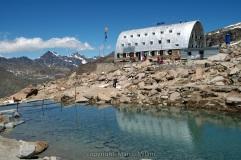58- Il rifugio Vittorio Emanuele Hut in Valsavaranche, Gran Paradiso, Valle d'Aosta.