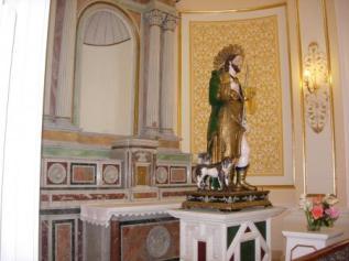 33 -Potenza, La chiesa di San Rocco -interno