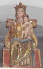 16,2 - Interno- chiesa di Santa Maria dell'Olmo Madonna in trono