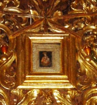 16,5 - Interno-Opera in ferro battuto Altare Stella