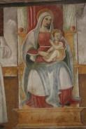 11- Chiesa della Madonna delle GrazieS. Maria in Platea Mdonna in trono con il Bambino (anno 1523