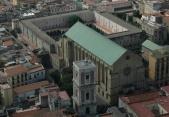 12 - Napoli. Monastero di Santa Chiara dall'alto